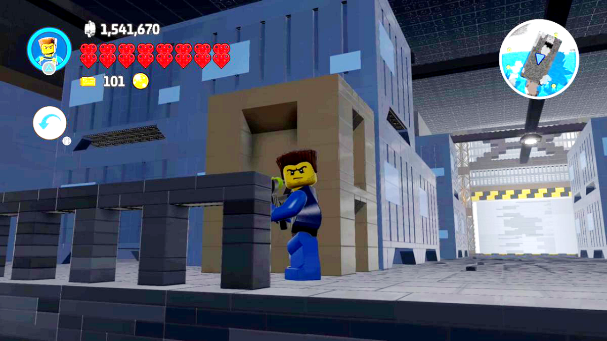 Metal Gear Solid fan recreates the game's intro area in Lego Worlds - Snake has never been so cute