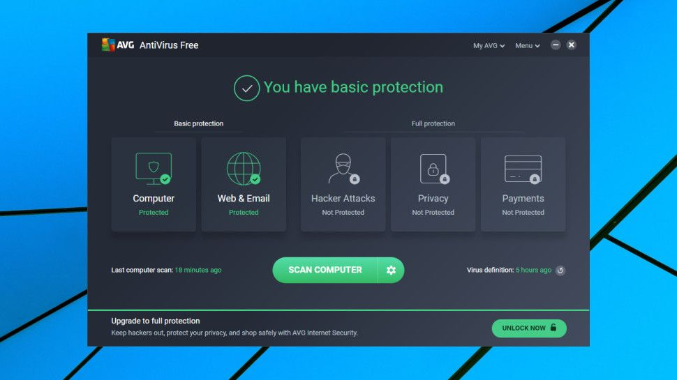 AVG AntiVirus Free 21.1.3164 full