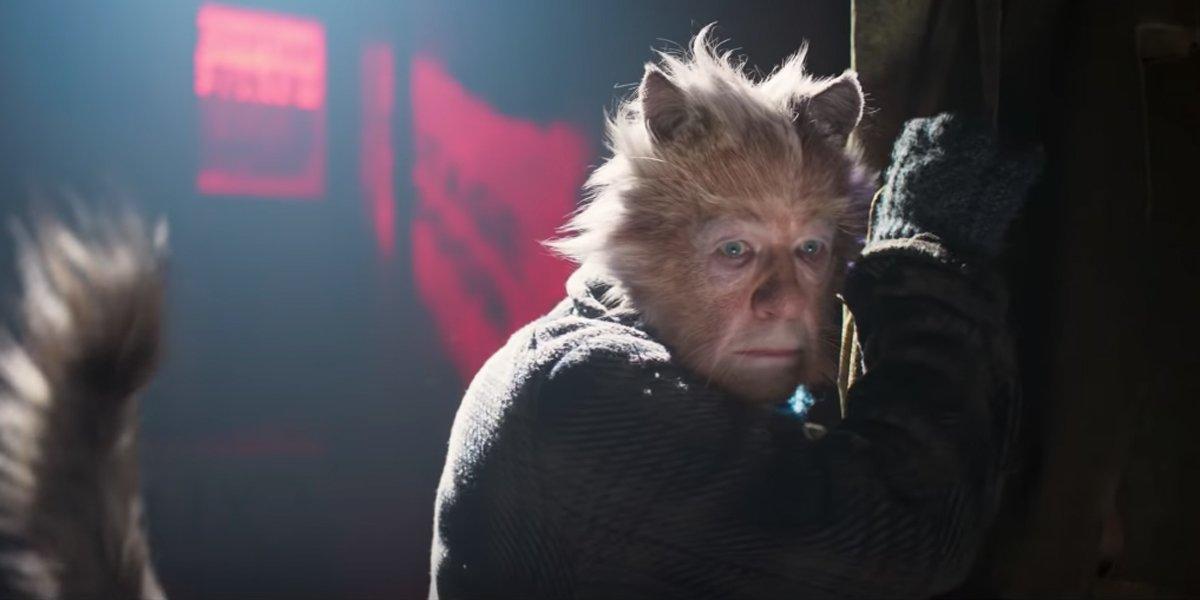 Ian McKlellan looking mangy in Cats trailer