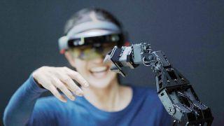 Ericsson VR robotics.