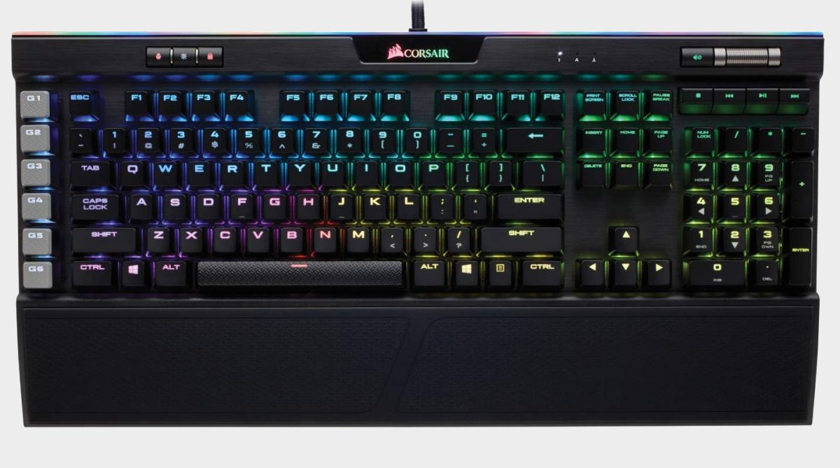 Save 45% on our favorite mechanical keyboard, the Corsair K95 Platinum, for Prime Day