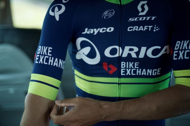 New kits colors for a new name sponsor as Team Orica-GreenEDGE changes into 1a8efd209