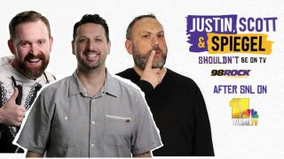 Justin Scott and Spiegel Shouldn't Be on TV Promo Image