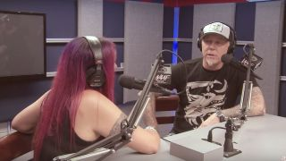 James Hetfield speaks with radio station WAAF