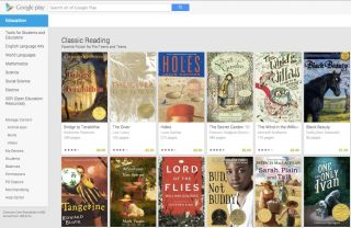 Google adds books, devices, and professional development to its Play offerings