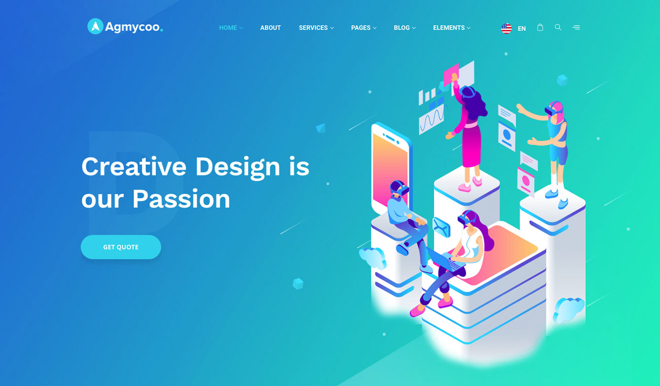 The 10 best HTML5 template designs: Agmycoo