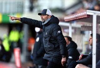 Burnley v Liverpool – Premier League – Turf Moor