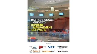 Digital Signage Guide to Content Management Software