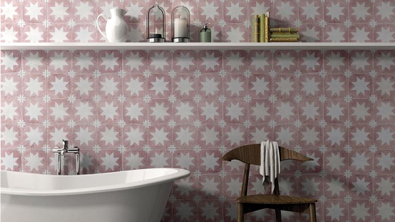 Bathroom Tiles Design >> 11 Tile Design Ideas To Make A Small Bathroom Feel Bigger