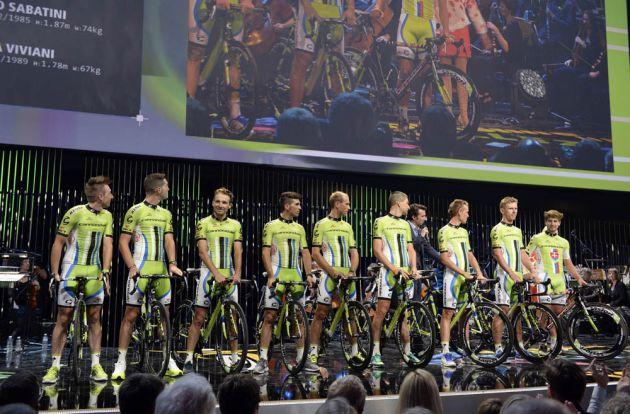 Cannondale before the 2014 Tour de France