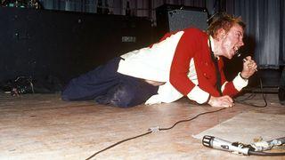 John Lydon onstage in 1976