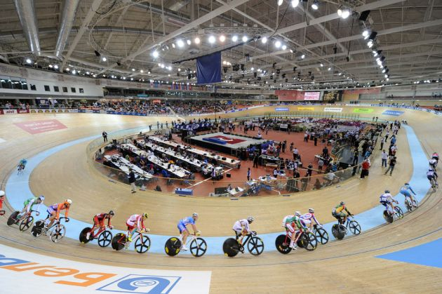 Men's scratch race, Track World Championships 2013, day two, evening