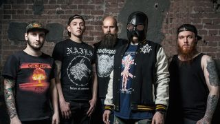 a press shot of siberian meat grinder