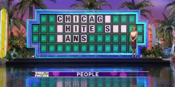 Wheel of Fortune Board