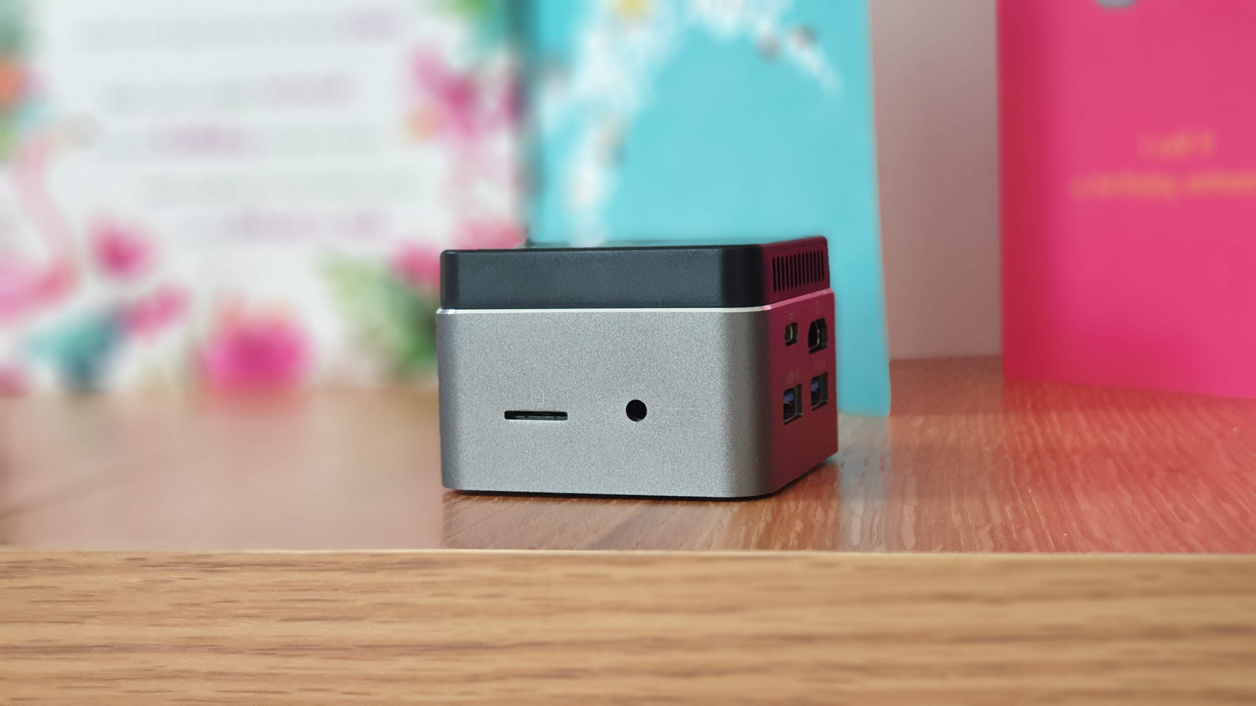 Audio Jack and MicroSD Card Reader