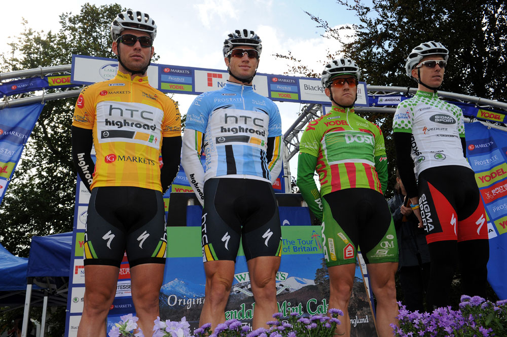 Jersey presentation, Tour of Britain 2011, stage two (cancelled)