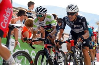 Egan Bernal (Ineos Grenadiers) on stage 11 of the Vuelta a España