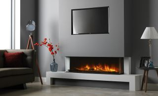 Fireplace from Vision Fires