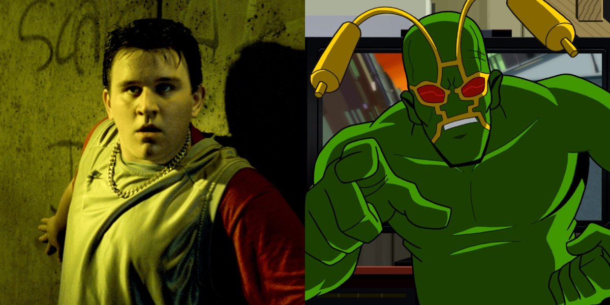 Harry Melling and Ambush Bug