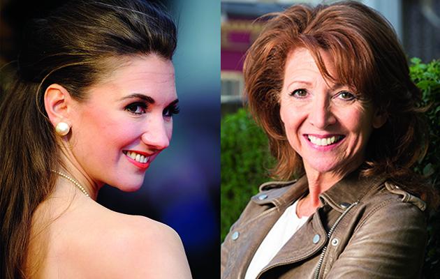 EastEnders Bonnie Langford (Carmel Kazemi) and ex-Hollyoaker Summer Strallen