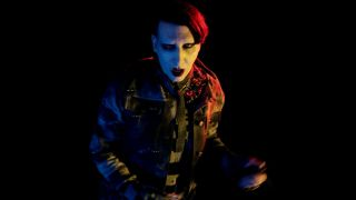 Marilyn Manson in the Marc Jacobs video