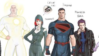 Iconic Superman writer Grant Morrison revisits the Man of Steel along with a new version of the Wildstorm superteam