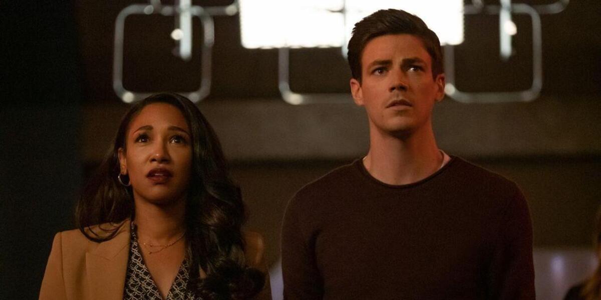 The Flash Candice Patton Iris West-Allen Barry Allen Grant Gustin The CW