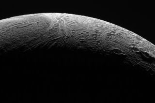 Northern territory of Enceladus