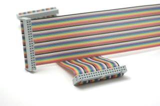 IDE cable stock image