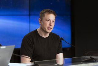 Elon Musk After Falcon Heavy Debut