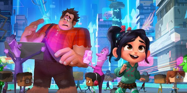 Ralph and Vanellope enters the internet Ralph Breaks The Internet Wreck-It Ralph 2