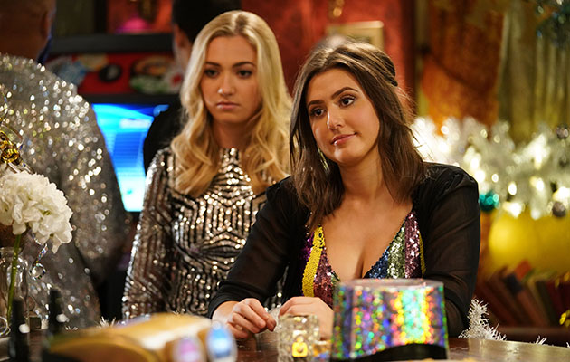 EastEnders Louise Mitchell with Bex Fowler