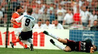 Alan Shearer Holland Euro 96