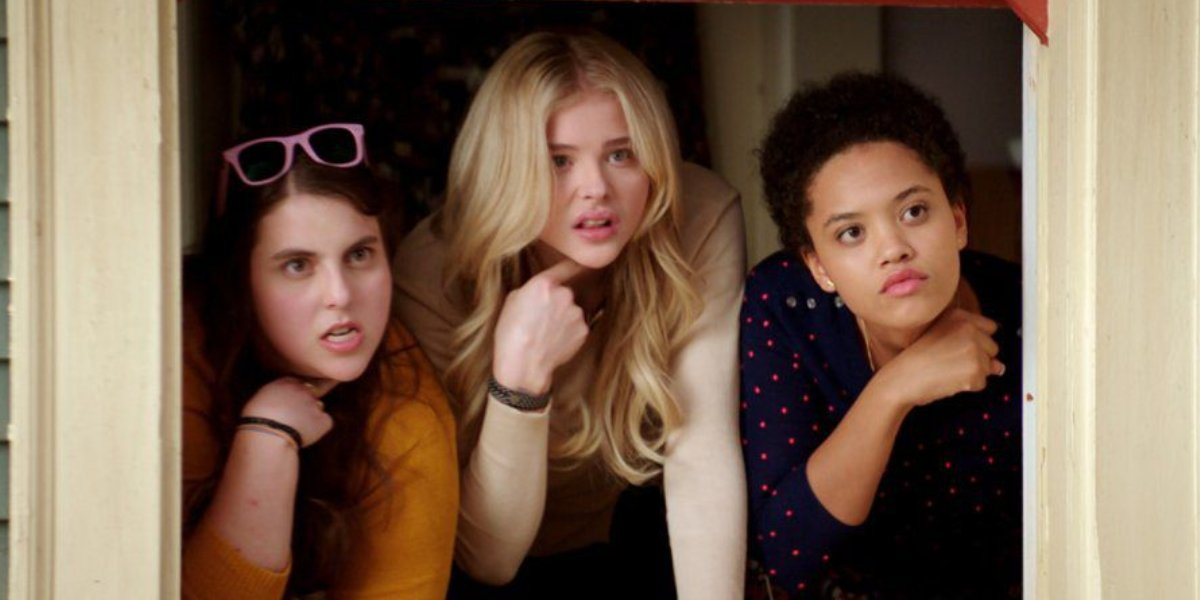 Beanie Feldstein, Chloë Grace Moretz, and Kiersey Clemons in Neighbors 2: Sorority Rising