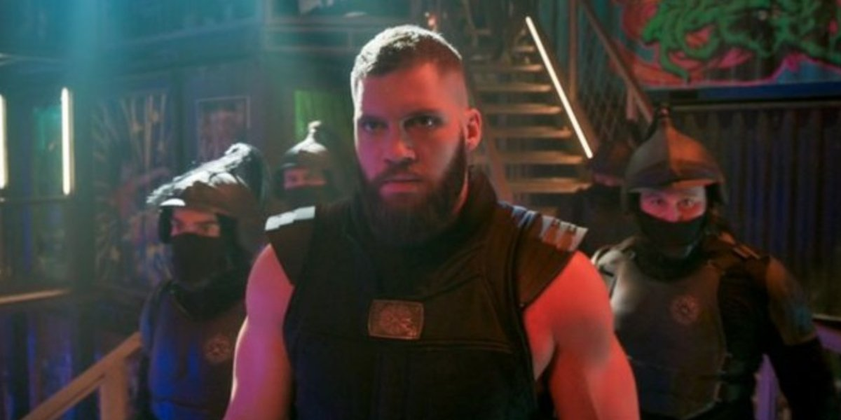 Florian Munteanu as Razor Fist in Shang-Chi and the Legend of the Ten Rings