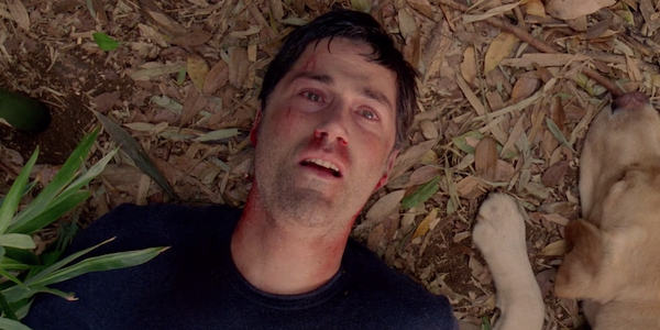 lost finale jack lying with dog