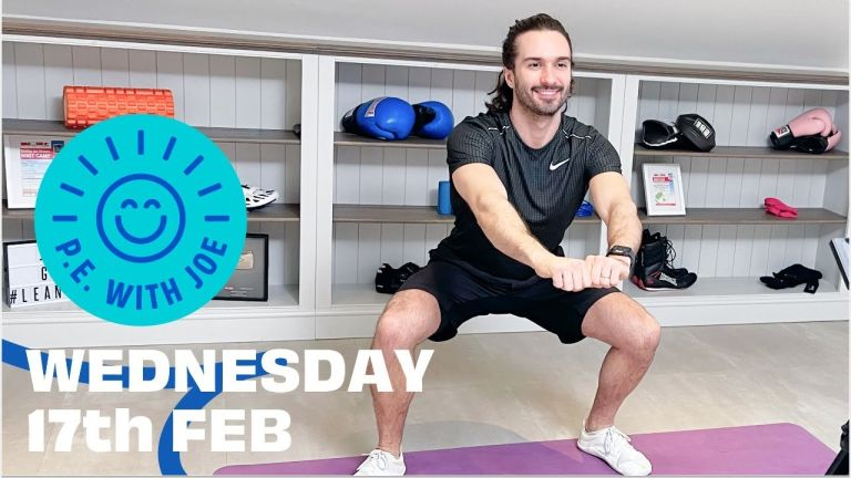 How to watch PE with Joe Wicks Wednesday 17 February