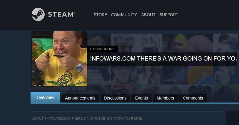 Steam has a hate group problem because Valve fails to enforce its own rules