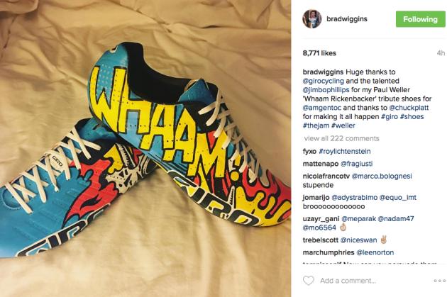 bradley wiggins custom shoes
