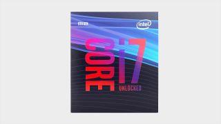 Intel Core i7 9700K processor box