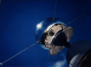 Vanguard 1 satellite, oldest human object in space