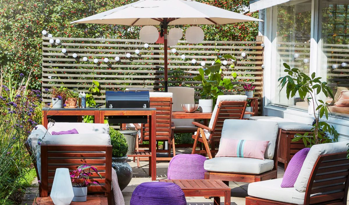 5 Ikea garden furniture ideas to copy for the perfect ...