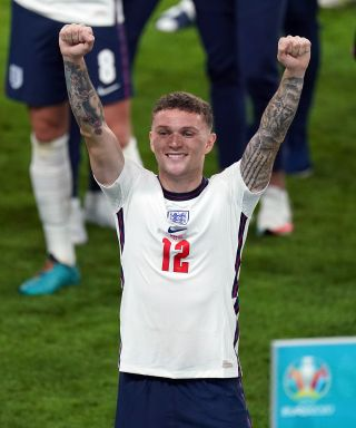 Kieran Trippier came off the bench to help England to semi-final victory over Denmark at Euro 2020.