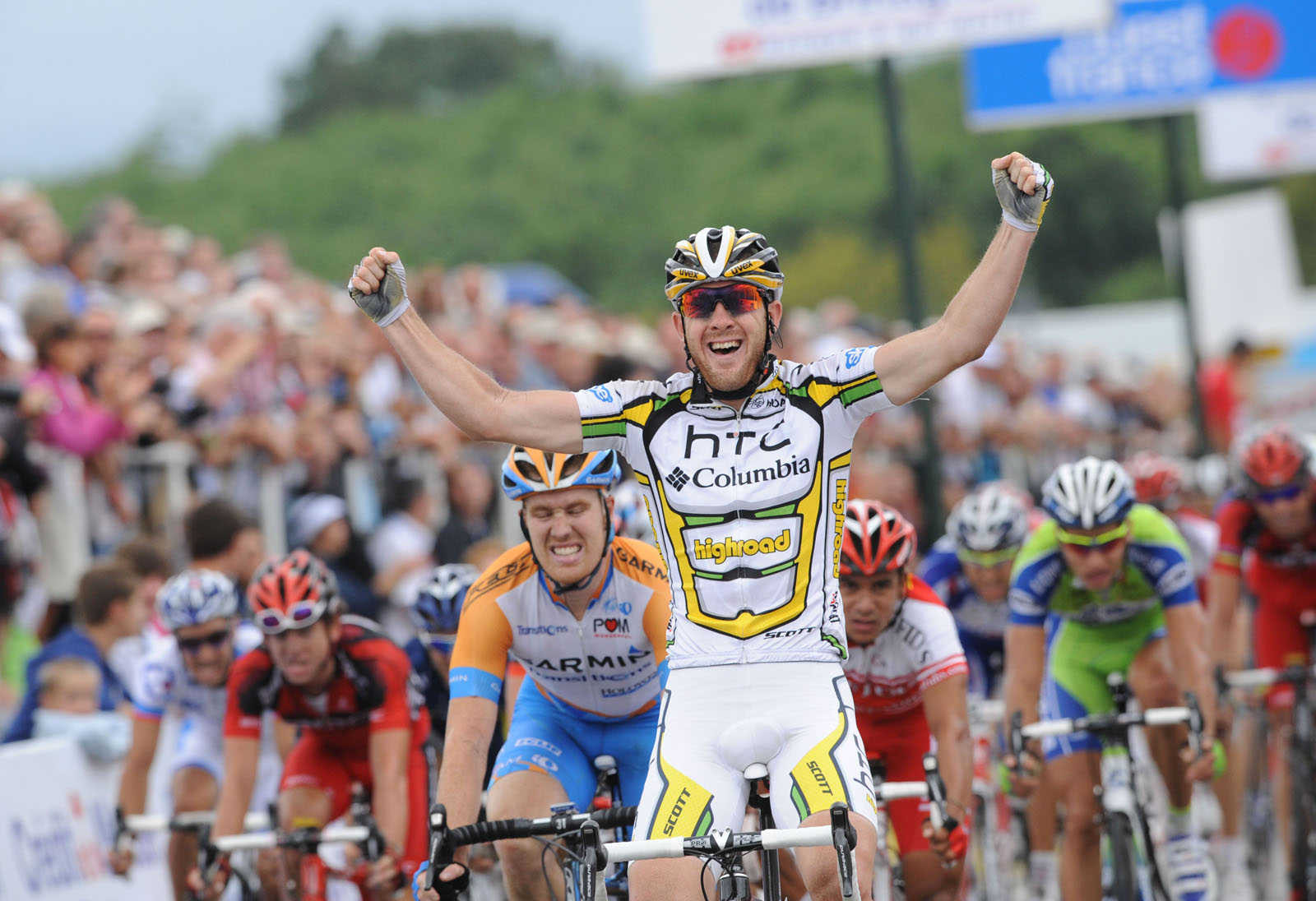 Matt Goss wins GP Plouay 2010