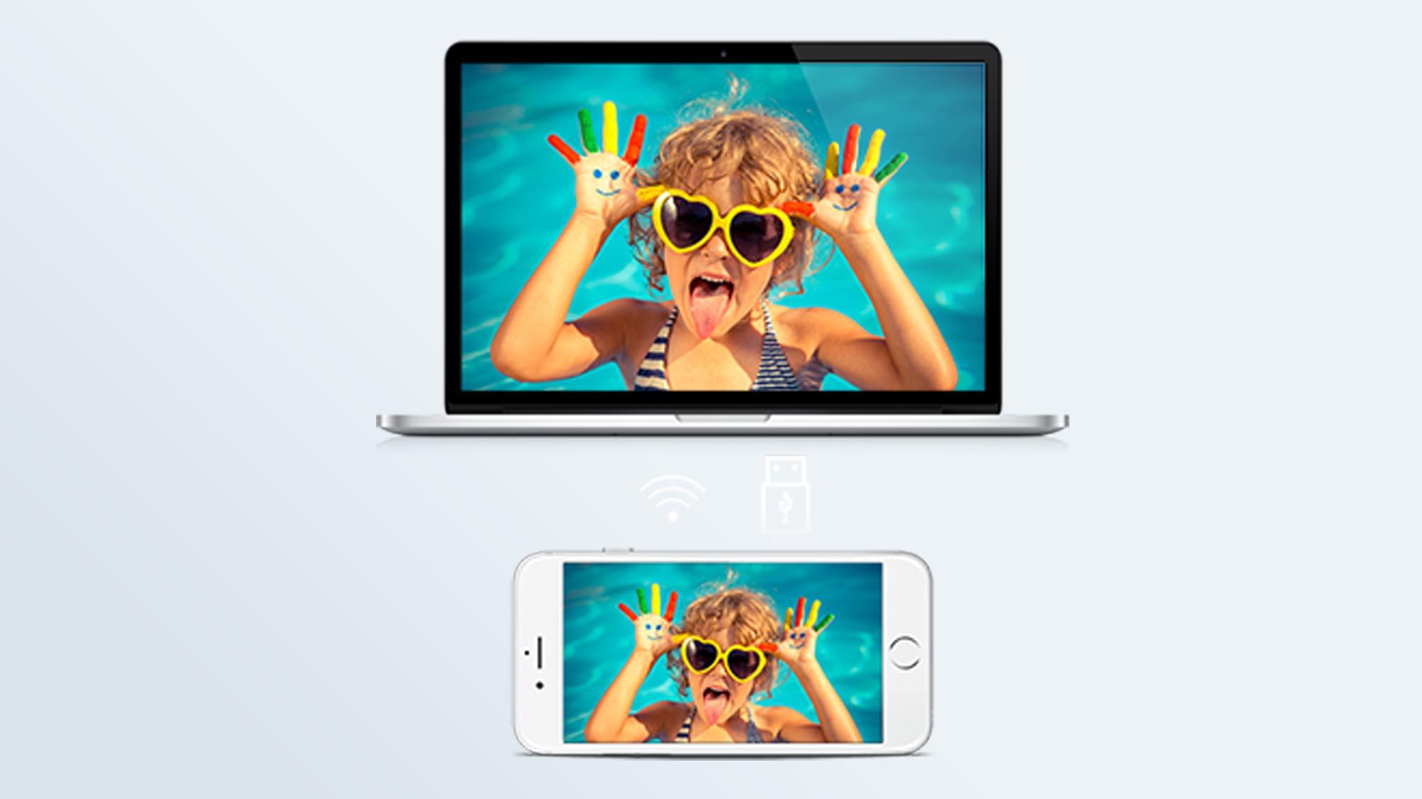 Como usar o telefone como webcam - iVCam