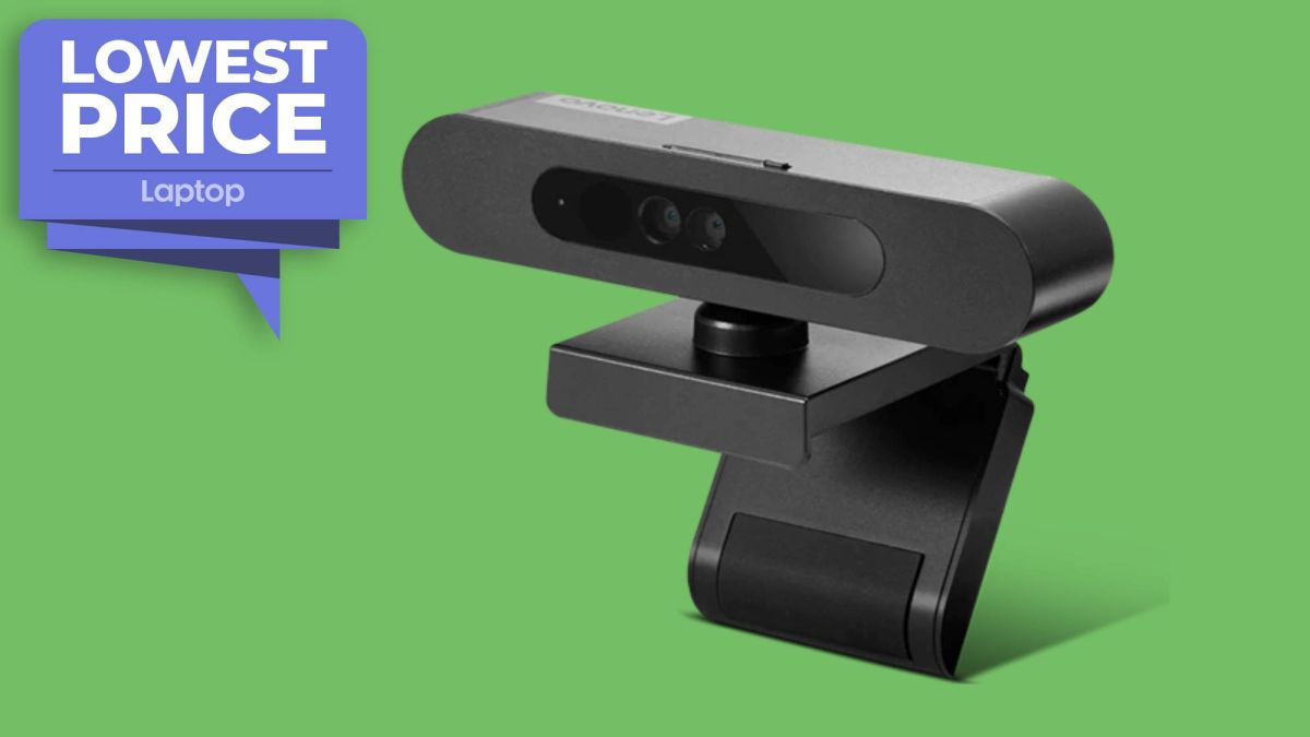Lenovo 500 FHD Webcam for PCs falls to $40 — its lowest price ever