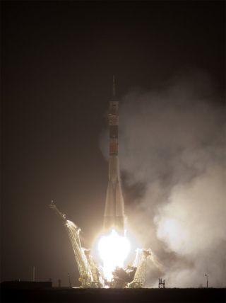 New Crew Launches Toward International Space Station