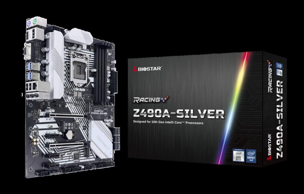 Biostar Drops Two Silver Z490 Motherboards: One ATX, One Mini-ITX
