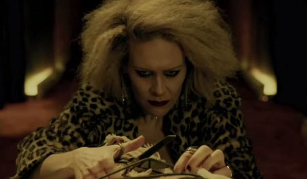 American horror story hotel first trailer meet the for Character hotel