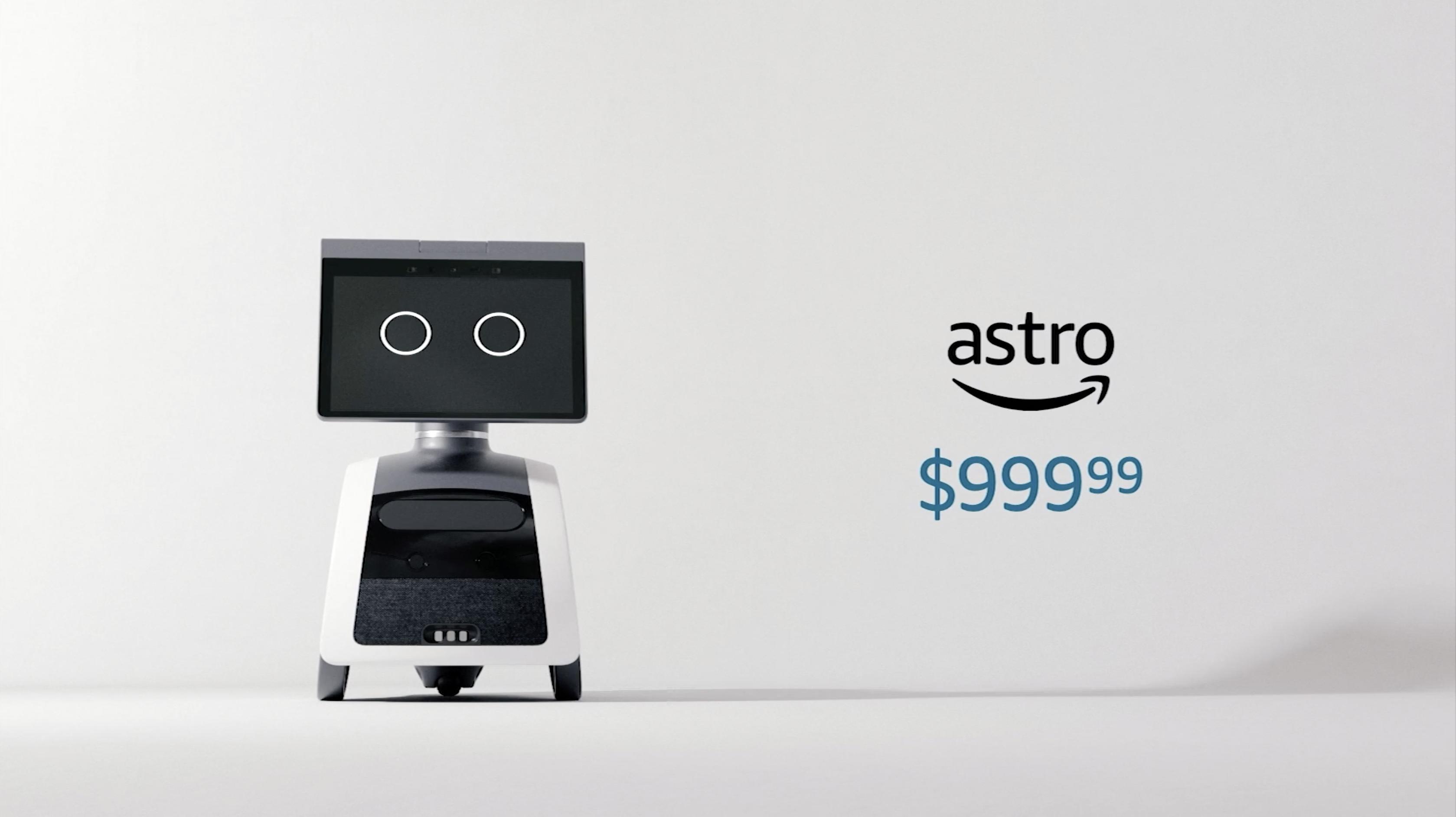 Amazon Astro debuted at Amazon event